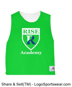Badger Youth Lacrosse Reversible Practice Tank Design Zoom
