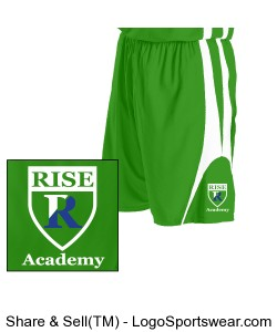 Youth Reversible Basketball Short by Alleson Design Zoom