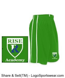 Alleson Youth Basketball Short  Design Zoom